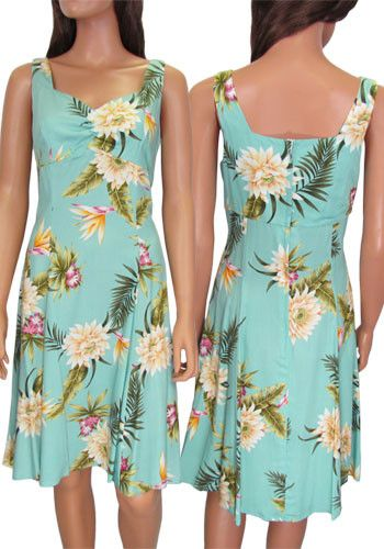 Short Sundress Rayon Island Ceres – Twisted Palms Trading Co.