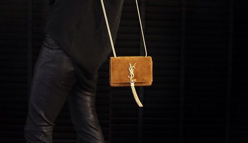 ysl fringe crossbody bag in camel suede | accessories | Pinterest ...