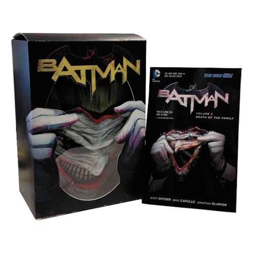 Foto 1 - Livro - Batman: Death of The Family (Book + Joker Mask Set)