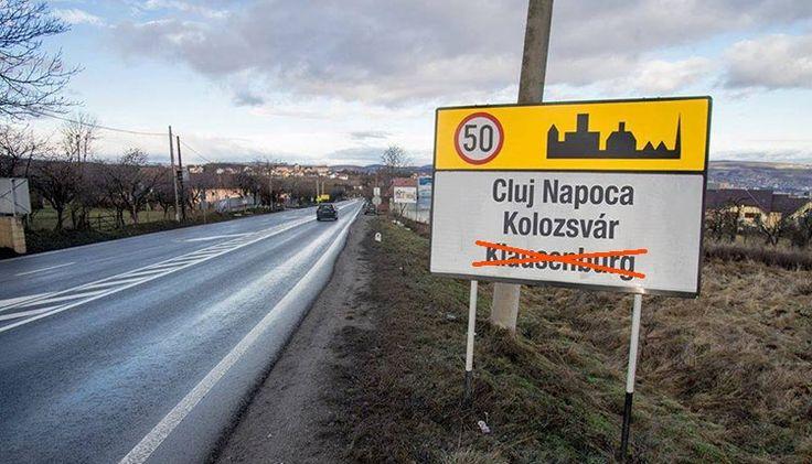 Friss,Friss,Friss,Győzött a többnyelvűség a kolozsvári táblaügyben – németül nem, de magyarul ki kell írni a város nevét  http://ahiramiszamit.blogspot.ro/2017/02/frissfrissfrissgyozott-tobbnyelvuseg.html