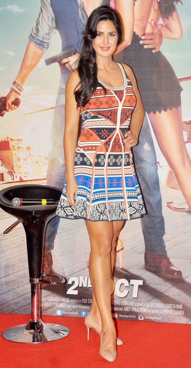Katrina Kaif at the launch of 'Bang Bang' title track.