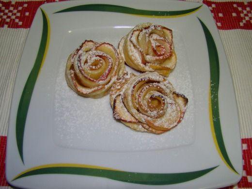 Jablečné růžičky