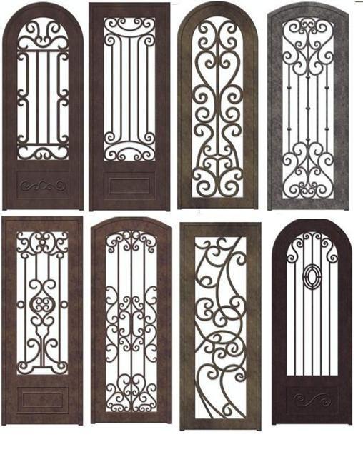Las 25 mejores ideas sobre puertas de hierro forjado en - Rejas de forja antiguas ...