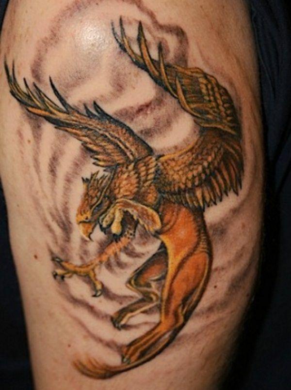 griffin tattoo design ideas