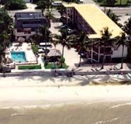 Buccaneer Beach Resort Inn - Fort Myers FL - Gulf of Mexico lodging in hotel motel apartment accommodations on Ft Myers Beach Florida