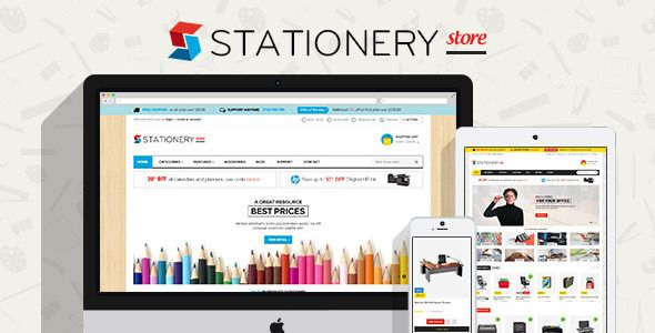 Pts Stationery Responsive Prestashop 1.6 Theme
