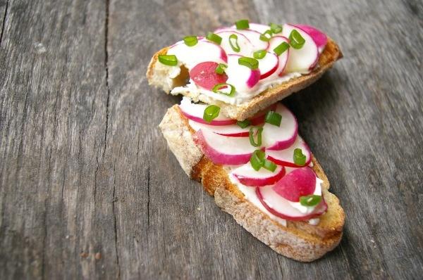 Radish Tea Sandwiches | afternoon tea | Pinterest