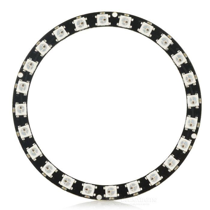 Duinopeak 86mm 24Bit WS2812 5050 RGB LED Smart RGB Ring  -> Wandleuchte Led Ring