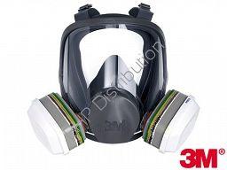 Pełnotwarzowa maska ochronna 3M-MAS-F-6000