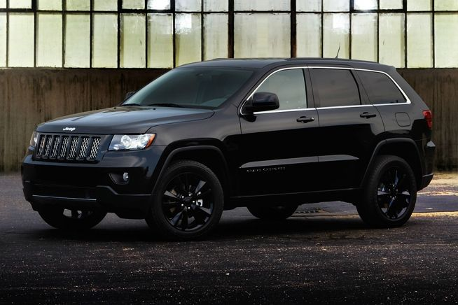 2012 Jeep Grand Cherokee Altitude Edition.