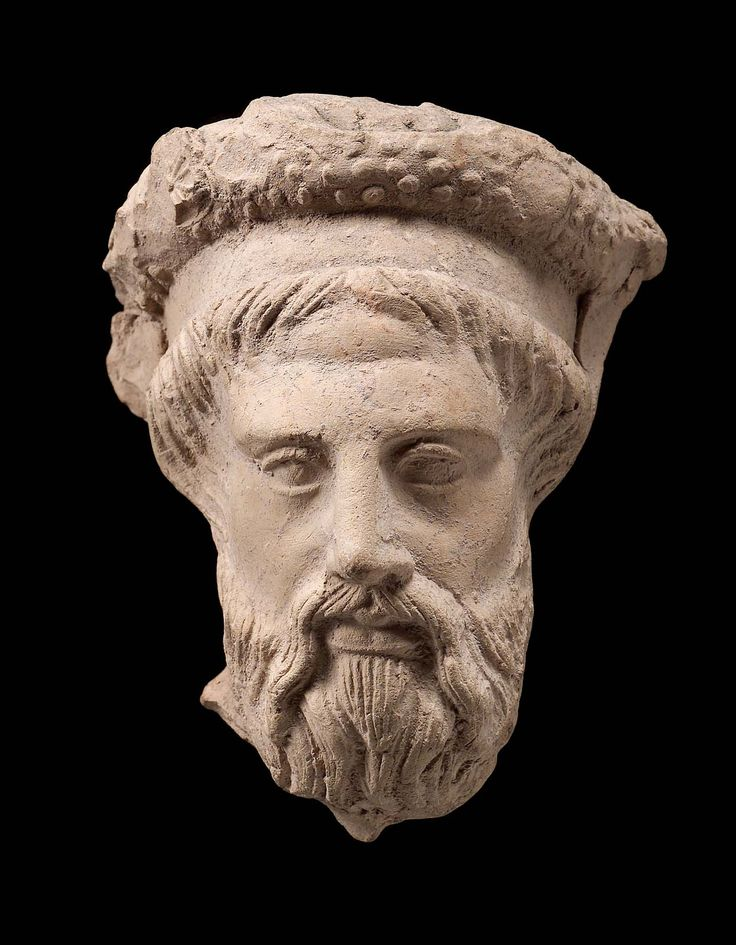 Bearded head of Chthonian Dionysos (?) | MFA for Educators