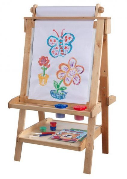 KidKraft Deluxe Wood Easel #Kids #Art