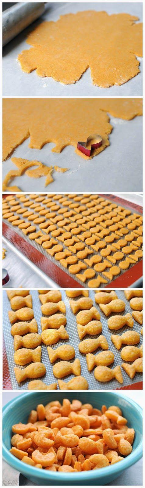 Homemade Goldfish Crackers - sharedbest