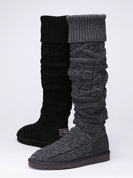 Ugg 174 Australia Over The Knee Twisted Cable Boot