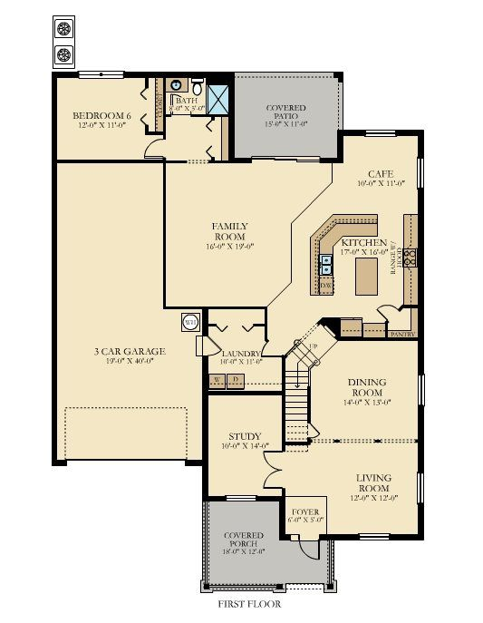 9 best south fork the brandywine 4 259 sq ft 6 bedrooms for Southfork ranch floor plan