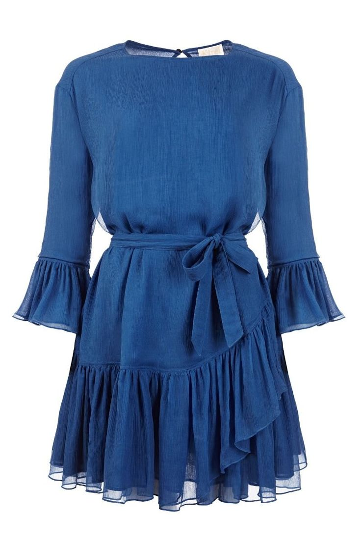 Blue dress meaning structure