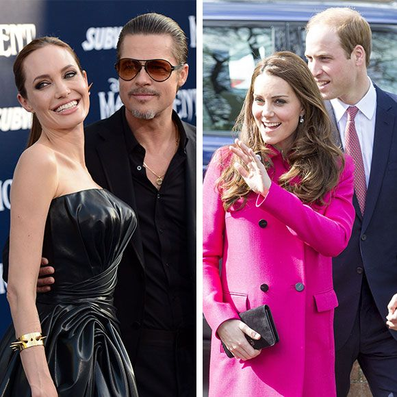 Angelina Jolie et Brad Pitt rencontrent le Prince William et Kate Middleton | HollywoodPQ.com