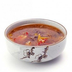 Говяжий суп с рисовой лапшой из Юго-восточной Азии