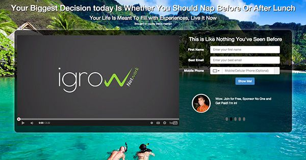 iGrow Network is a Social Media Marketing company that provides the best tools, knowledge, compensation and products to grow any business online!