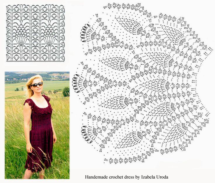 Sukienka szydełkowa :) Crochet dress :)