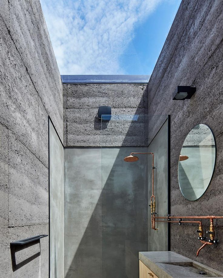 912 mentions J'aime, 15 commentaires – est (@est_living) sur Instagram : «ARCHITECTURE: This dreamy concrete bathroom is just part of what makes the Balnarring Retreat by…»