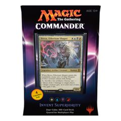 Commander 2016 - Invent Superiority - Magic Sealed Products » Commander Decks - Wizard's Tower