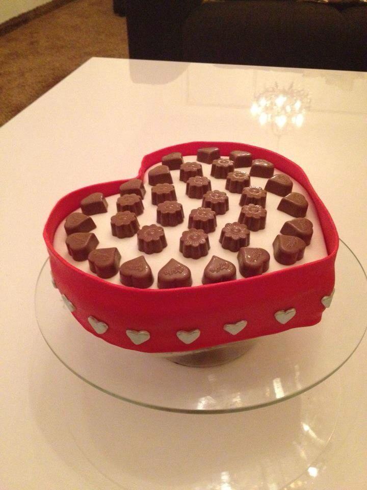 Chocolade doos taart