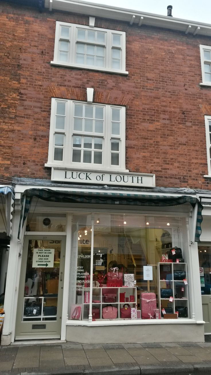 Our windows are all ready for #Valentine's Day 2014 here at #Luck of #Louth in #Lincolnshire!