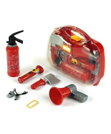Take a look at this Firefighter Tool Case Set by Bosch on #zulily today!