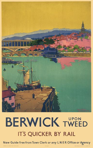 Prints of Berwick upon Tweed by National Railway Museum (841mm x 1189mm) | Shop | Surface View