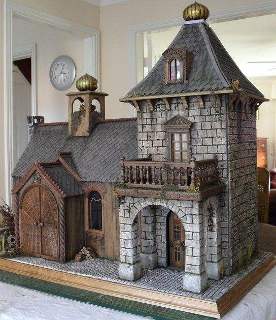 Russian Lodge Dollhouse