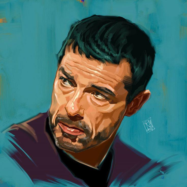 Alessandro Gassman - Portrait by Riccardo Messina