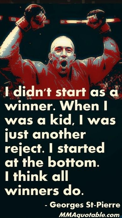 motivational quotes with pictures georges st pierre gsp quotes