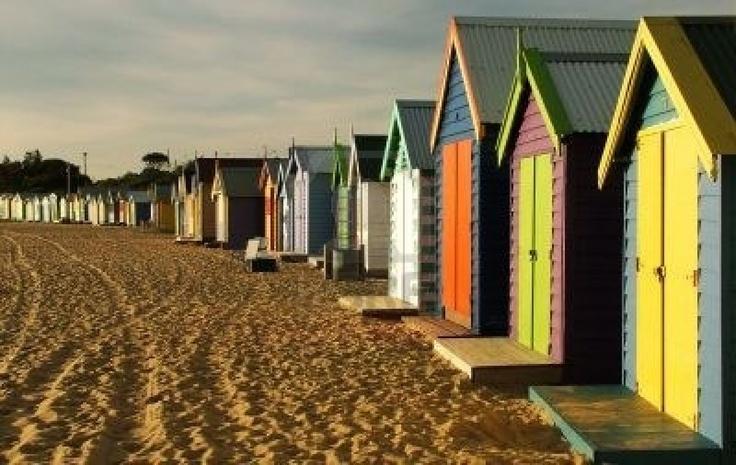 Beach Houses Melbourne Australia.
