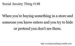 Social Anxiety Thing #148