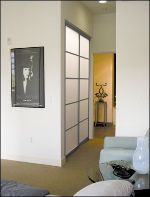 Silhouette Wardrobe Doors by Contractors Wardrobe