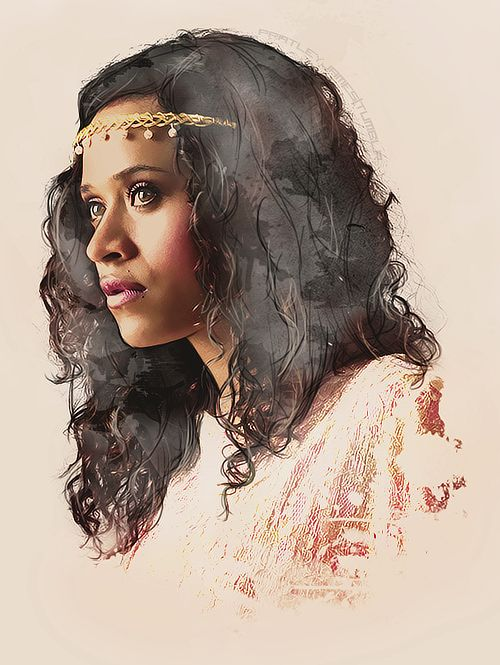 Guinevere. Whoever did this is amazing in watercolor oh my goodness teach me your ways haha