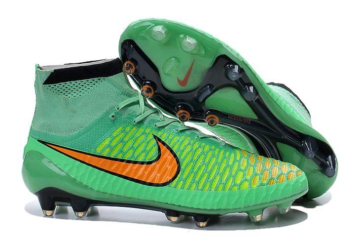 nike high-top Scarpe da Calcio Nike Elastico Superfly IC verde
