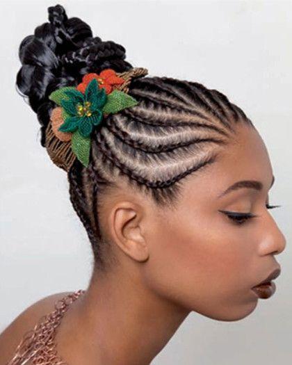 penteados afros tranças nagô