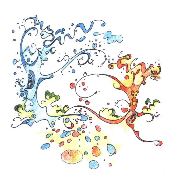 The Tree Fairy Tale Sketch by Harry Papaioannou