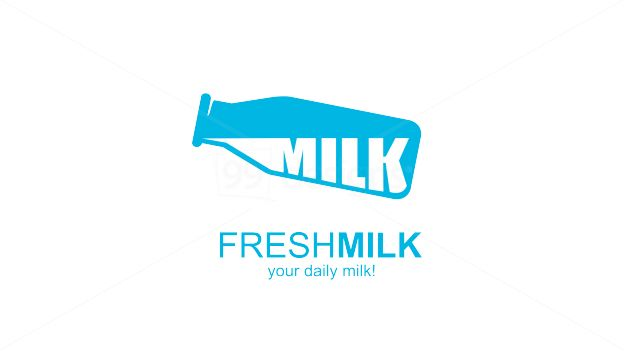 I like the structure of this logo - the words underneath the graphic, which reinfornces the brand name. However I'm not a fan of the word milk being repeated.