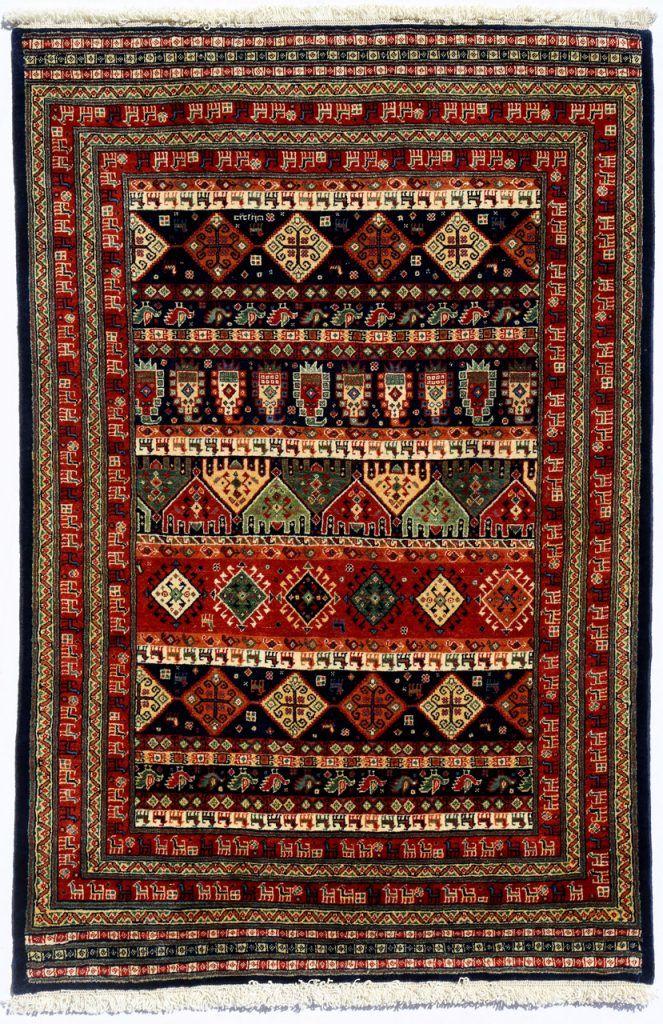 Bakhitiari Bahar 62742 فرش حیدریان Rugs On Carpet Patterned Carpet Scandinavian Rug
