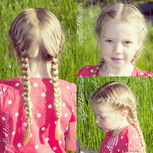 """""""Hairstyle from last week: French braids // Frisyre fra forrige uke: franske fletter """" Photo taken by @flettemia on Instagram, pinned via the InstaPin iOS App! http://www.instapinapp.com (06/09/2015)"""