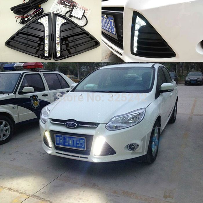ford focus 2012 2015 find more daytime running lights information about excellent quality original taiwan ultra bright car specific led