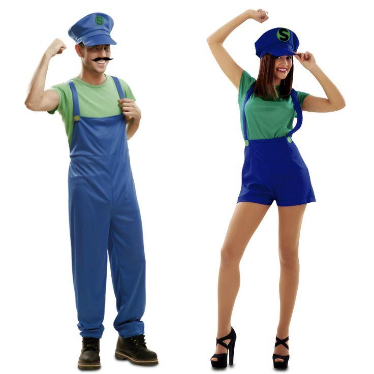 Déguisements Super Couple Luigi #déguisementscouples