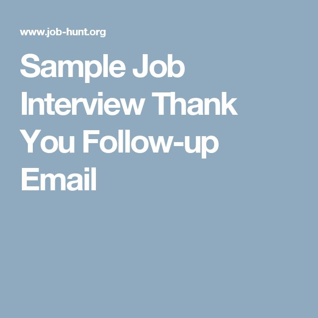 Best  Interview Follow Up Email Ideas On   Interview