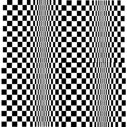 Wanneer dezelfde vormen zich herhalen in een compositie ontstaat een structuur, een patroon of een raster.