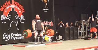 Video: Weightlifter Eddie Hall breaks world record with 1102-pound deadlift - Campus Sports Net