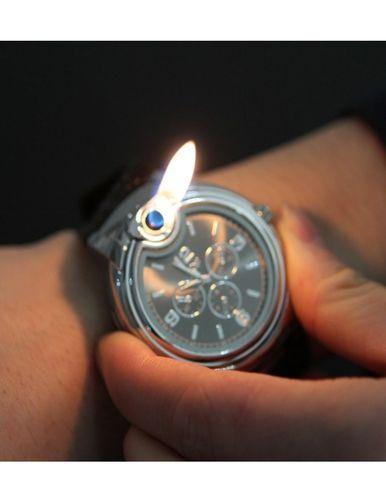 Butane Cigarette Cigar Lighter Watch. Just thought this was weird!