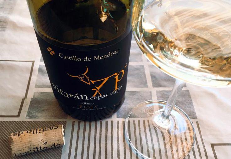 El Alma del Vino.: Bodegas Castillo de Mendoza Vitarán Cepas Viejas Blanco 2014.